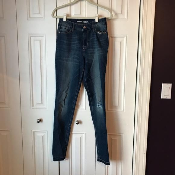 Old Navy Denim - Old Navy Tall Skinny Rockstar Jeans 4